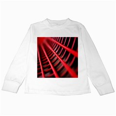 Abstract Of A Red Metal Chair Kids Long Sleeve T-Shirts