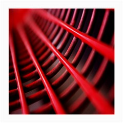 Abstract Of A Red Metal Chair Medium Glasses Cloth (2-Side)