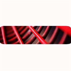 Abstract Of A Red Metal Chair Large Bar Mats