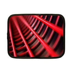 Abstract Of A Red Metal Chair Netbook Case (small)