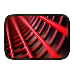 Abstract Of A Red Metal Chair Netbook Case (medium)