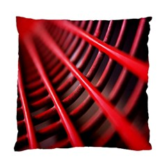 Abstract Of A Red Metal Chair Standard Cushion Case (two Sides)