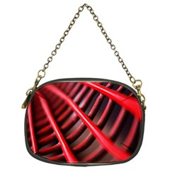 Abstract Of A Red Metal Chair Chain Purses (Two Sides)