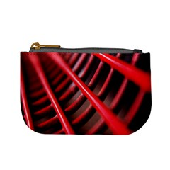 Abstract Of A Red Metal Chair Mini Coin Purses