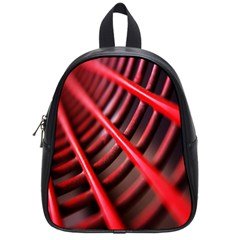 Abstract Of A Red Metal Chair School Bags (Small)