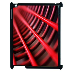 Abstract Of A Red Metal Chair Apple iPad 2 Case (Black)