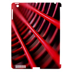 Abstract Of A Red Metal Chair Apple Ipad 3/4 Hardshell Case (compatible With Smart Cover)