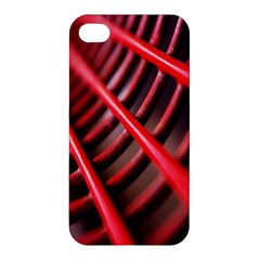 Abstract Of A Red Metal Chair Apple iPhone 4/4S Premium Hardshell Case