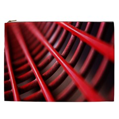 Abstract Of A Red Metal Chair Cosmetic Bag (xxl)