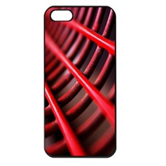 Abstract Of A Red Metal Chair Apple iPhone 5 Seamless Case (Black)