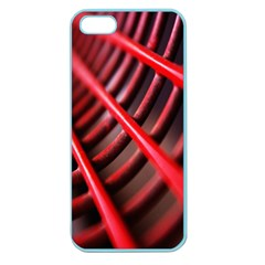 Abstract Of A Red Metal Chair Apple Seamless Iphone 5 Case (color)