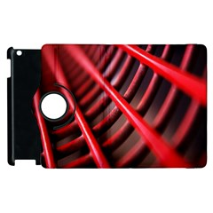 Abstract Of A Red Metal Chair Apple Ipad 3/4 Flip 360 Case