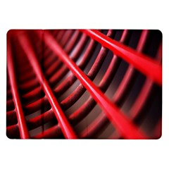 Abstract Of A Red Metal Chair Samsung Galaxy Tab 10 1  P7500 Flip Case
