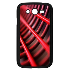 Abstract Of A Red Metal Chair Samsung Galaxy Grand Duos I9082 Case (black)