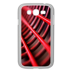 Abstract Of A Red Metal Chair Samsung Galaxy Grand Duos I9082 Case (white)