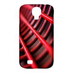 Abstract Of A Red Metal Chair Samsung Galaxy S4 Classic Hardshell Case (pc+silicone)