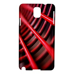 Abstract Of A Red Metal Chair Samsung Galaxy Note 3 N9005 Hardshell Case
