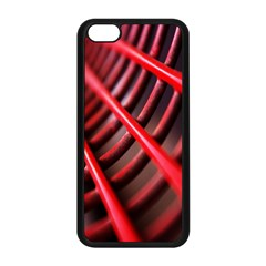 Abstract Of A Red Metal Chair Apple iPhone 5C Seamless Case (Black)
