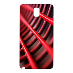 Abstract Of A Red Metal Chair Samsung Galaxy Note 3 N9005 Hardshell Back Case