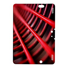 Abstract Of A Red Metal Chair Kindle Fire Hdx 8 9  Hardshell Case