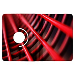 Abstract Of A Red Metal Chair Kindle Fire HDX Flip 360 Case