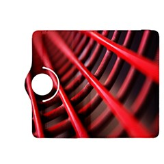 Abstract Of A Red Metal Chair Kindle Fire HDX 8.9  Flip 360 Case