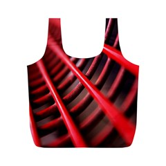 Abstract Of A Red Metal Chair Full Print Recycle Bags (m)