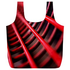 Abstract Of A Red Metal Chair Full Print Recycle Bags (l)