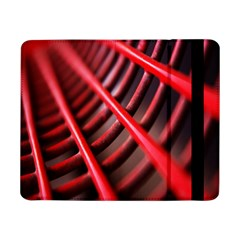 Abstract Of A Red Metal Chair Samsung Galaxy Tab Pro 8 4  Flip Case