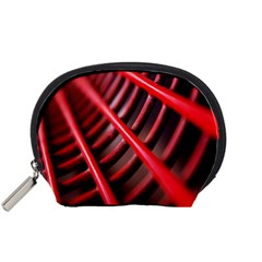 Abstract Of A Red Metal Chair Accessory Pouches (small)