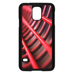 Abstract Of A Red Metal Chair Samsung Galaxy S5 Case (black)