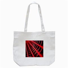 Abstract Of A Red Metal Chair Tote Bag (White)