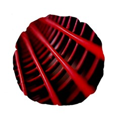 Abstract Of A Red Metal Chair Standard 15  Premium Flano Round Cushions