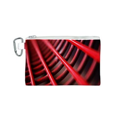 Abstract Of A Red Metal Chair Canvas Cosmetic Bag (S)