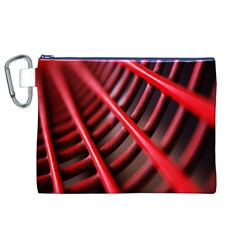 Abstract Of A Red Metal Chair Canvas Cosmetic Bag (xl)