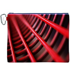 Abstract Of A Red Metal Chair Canvas Cosmetic Bag (xxxl)