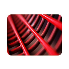 Abstract Of A Red Metal Chair Double Sided Flano Blanket (mini)