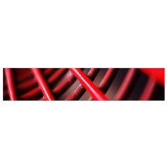 Abstract Of A Red Metal Chair Flano Scarf (Small)
