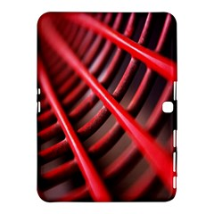 Abstract Of A Red Metal Chair Samsung Galaxy Tab 4 (10.1 ) Hardshell Case