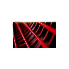 Abstract Of A Red Metal Chair Cosmetic Bag (XS)