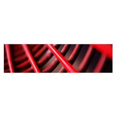 Abstract Of A Red Metal Chair Satin Scarf (Oblong)