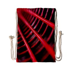 Abstract Of A Red Metal Chair Drawstring Bag (Small)