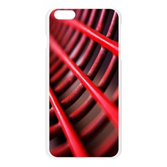 Abstract Of A Red Metal Chair Apple Seamless iPhone 6 Plus/6S Plus Case (Transparent)