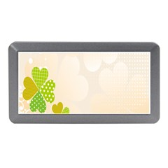 Leaf Polka Dot Green Flower Star Memory Card Reader (Mini)