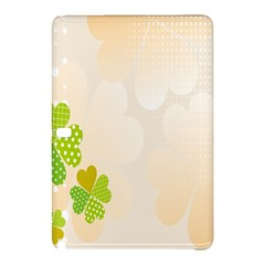 Leaf Polka Dot Green Flower Star Samsung Galaxy Tab Pro 10.1 Hardshell Case