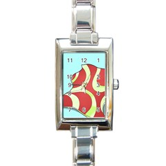 Make Bedroom Unique Rectangle Italian Charm Watch