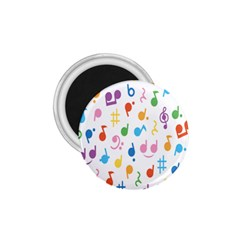 Musical Notes 1.75  Magnets