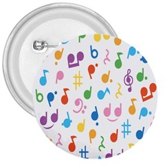 Musical Notes 3  Buttons