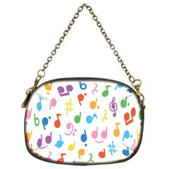 Musical Notes Chain Purses (Two Sides)