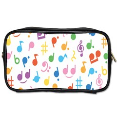 Musical Notes Toiletries Bags 2-Side